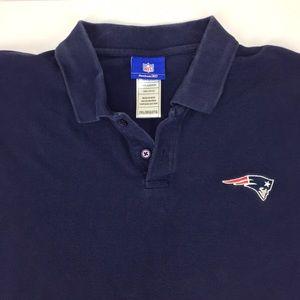 Reebok Shirts - NFL New England Patriots Polo Shirt 2XL b6472b6bf